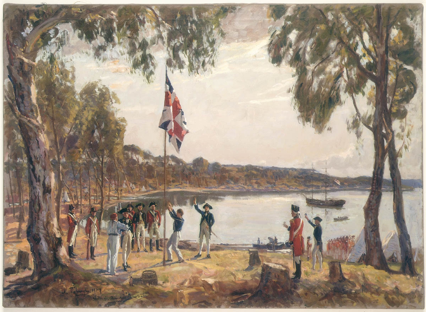australian independence as a nation colonised