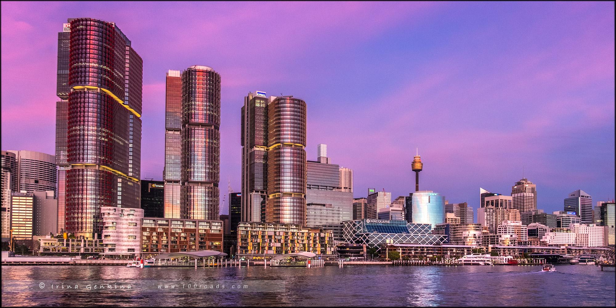 Барангару, Barangaroo, Сидней, Sydney, Новый Южный Уэльс, New South Wales, Австралия, Australia