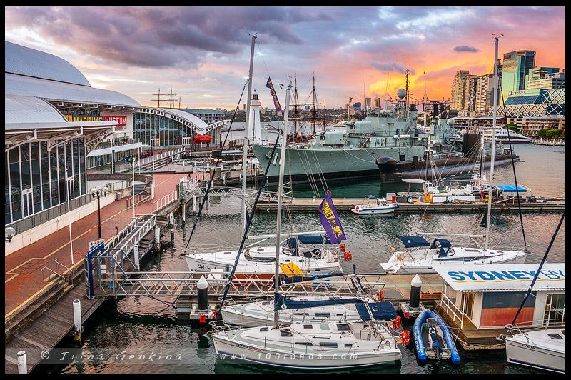 Дарлинг Харбор, Darling Harbour, Сидней, Sydney, Австралия, Australia