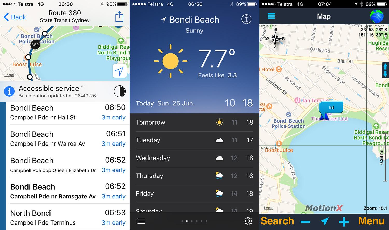 Пляж Бондай, Bondi Beach, От Бондая до Куджи, Bondi to Coogee, Восточные пляжи, East Beaches, Сидней, Sydney, Новый Южный Уэльс, New South Wales, Австралия, Australia