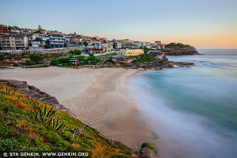 Пляж Тамарама, Tamarama Beach, Восточные пляжи, East Beaches, Сидней, Sydney, Новый Южный Уэльс, New South Wales, Австралия, Australia