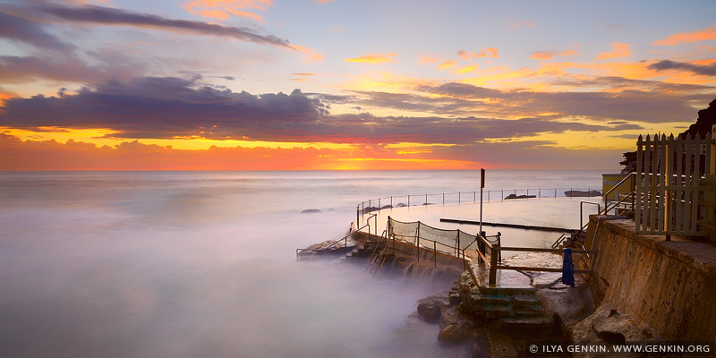 Пляж Бронти, Bronte Beach, Восточные пляжи, East Beaches, Сидней, Sydney, Новый Южный Уэльс, New South Wales, Австралия, Australia