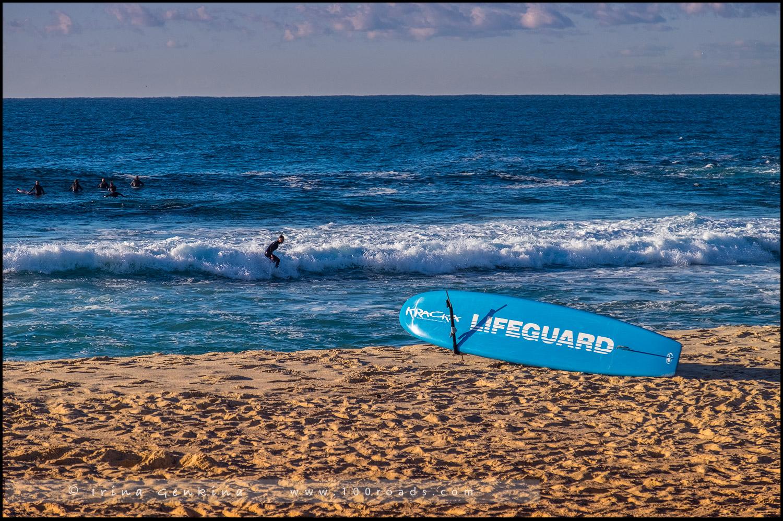 Пляж Бронти, Bronte Beach, Бондай - Куджи, Bondi to Coogee, Восточные пляжи, East Beaches, Сидней, Sydney, Новый Южный Уэльс, New South Wales, Австралия, Australia