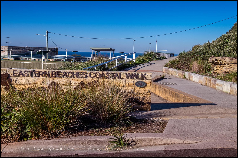 Бондай - Куджи, Bondi to Coogee, Восточные пляжи, East Beaches, Сидней, Sydney, Новый Южный Уэльс, New South Wales, Австралия, Australia