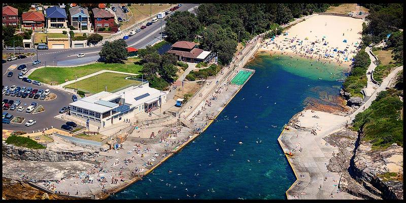 Пляж Кловелли, Clovelly Beach, Восточные пляжи, East Beaches, Сидней, Sydney, Новый Южный Уэльс, New South Wales, Австралия, Australia