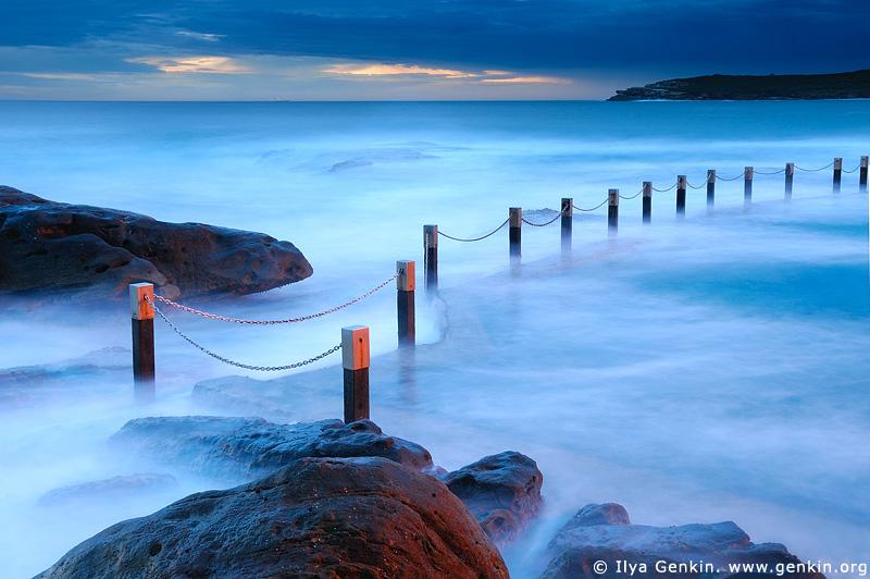 Пляж Марубра, Maroubra Beach, Восточные пляжи, East Beaches, Сидней, Sydney, Новый Южный Уэльс, New South Wales, Австралия, Australia