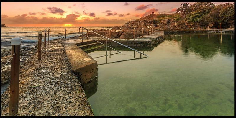 Malabar Beach, Восточные пляжи, East Beaches, Сидней, Sydney, Новый Южный Уэльс, New South Wales, Австралия, Australia