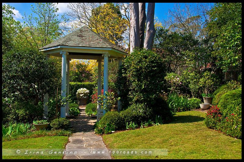 Дом Эрилдин, Eryldene Historic House, Сад, Garden, Гордон, Gordon, Сидней, Sydney, Австралия, Australia