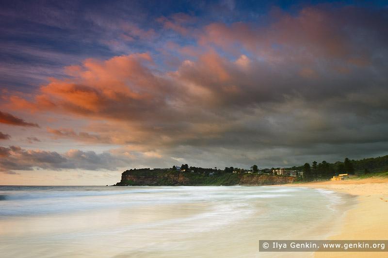 Пляж Авалон, Avalon Beach, Северные пляжи, Northen Beaches, Сидней, Sydney, Новый Южный Уэльс, New South Wales, Австралия, Australia