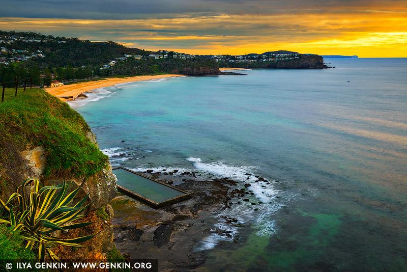 Пляж Ньюпорт, Newport Beach, Северные пляжи, Northen Beaches, Сидней, Sydney, Новый Южный Уэльс, New South Wales, Австралия, Australia