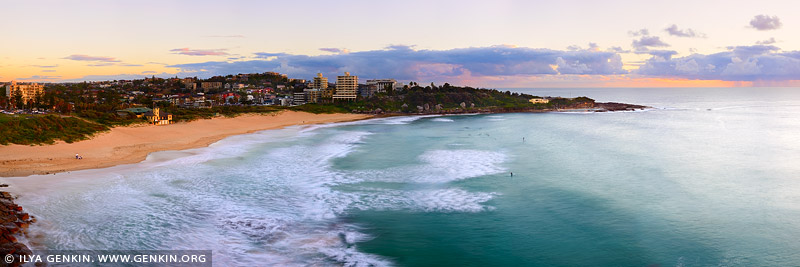 Пресноводный Пляж, Freshwater Beach, Северные пляжи, Northen Beaches, Сидней, Sydney, Новый Южный Уэльс, New South Wales, Австралия, Australia
