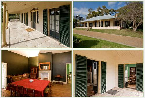 Коттедж Экспериментальной Фермы, Experiment Farm Cottage, Парраматта, Parramatta, Сидней, Sydney, Австралия, Australia
