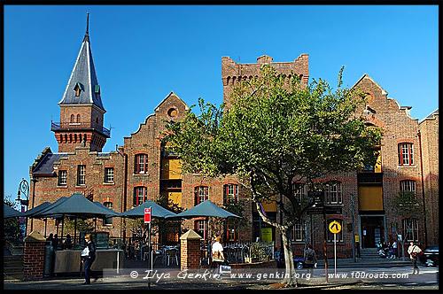 Здание Австралийского Пароходства, ASN Co Building, Район Рокс, Скалы, The Rocks, Сидней, Sydney, Австралия, Australia