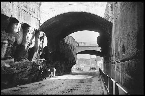 Аргайл проход, Argyle Cut, Район Рокс, Скалы, The Rocks, Сидней, Sydney, Австралия, Australia