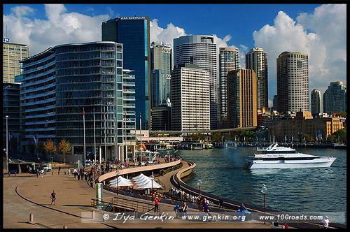 Круговая Набережная, Круговой Причал, Круглый Причал, Circular Quay, Сидней, Sydney, Австралия, Australia