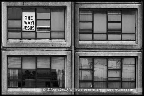 Аллея Глостер, Gloucester Walk, Улица Гумберленд, Cumberland Street, Район Рокс, Скалы, The Rocks, Сидней, Sydney, Австралия, Australia