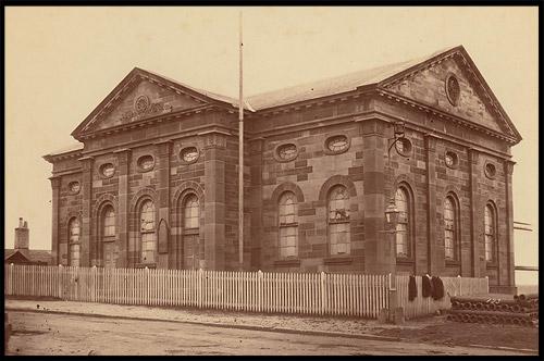 Церковь моряков, Mariners Church, Seamens Mission, Район Рокс, Скалы, The Rocks, Сидней, Sydney, Австралия, Australia