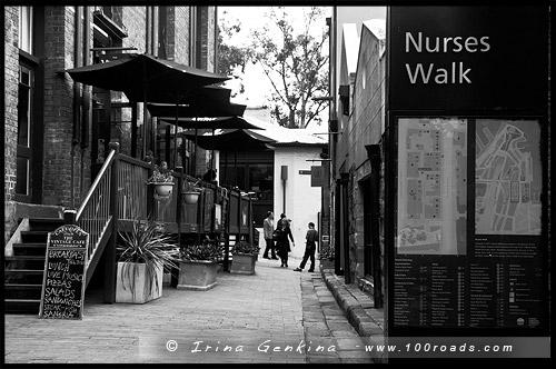 Аллея Медсестер, Nurses Walk, Район Рокс, Скалы, The Rocks, Сидней, Sydney, Австралия, Australia