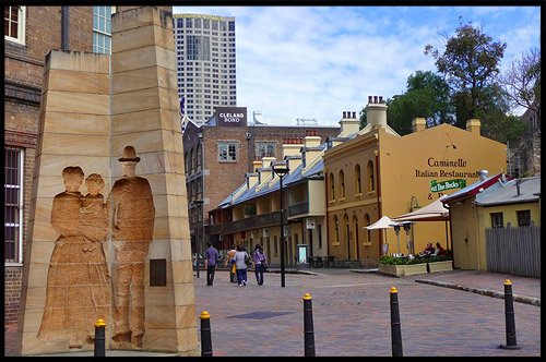 Плейфер Стрит, Playfair Street, Район Рокс, Скалы, The Rocks, Сидней, Sydney, Австралия, Australia