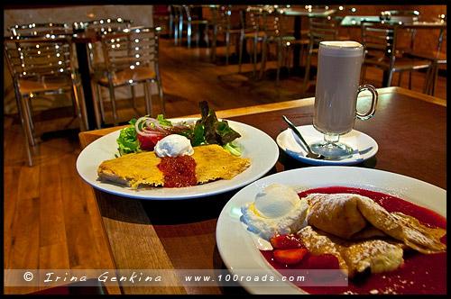 Кафе, Pancakes on the Rocks, Район Рокс, Скалы, The Rocks, Сидней, Sydney, Австралия, Australia
