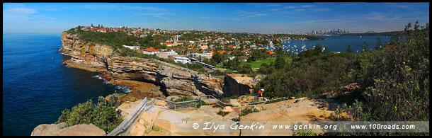 Провал, The Gap, Мыс Южная Голова, South Head, Вотсонс Бэй, Watsons Bay, Сидней, Sydney, Австралия, Australia