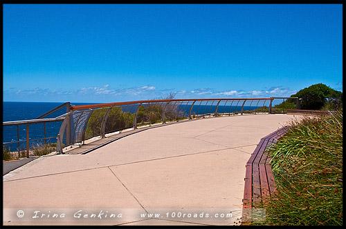 Лестница Иакова, Jacobs Ladder, Парк, Провал, The Gap, Мыс Южная Голова, South Head, Вотсонс Бэй, Watsons Bay, Сидней, Sydney, Австралия, Australia