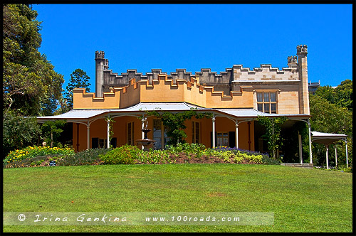 Усадьба Воклюз, Vaucluse House, Дом Вентвортов, House of Wentworth family, Воклюз, Vaucluse, Сидней, Sydney, Австралия, Australia