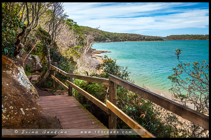 От Спит Бридж до Мэнли, Spit Bridge to Manly, Manly Scenic Walkway, MSW, Сидней, Sydney, Австралия, Australia