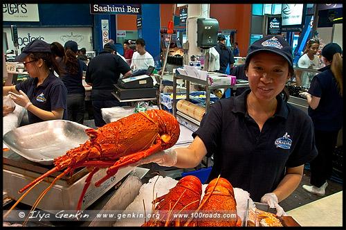 Достопримечательности Сиднея - Сиднейский рыбный рынок (Sydney Fish Market)