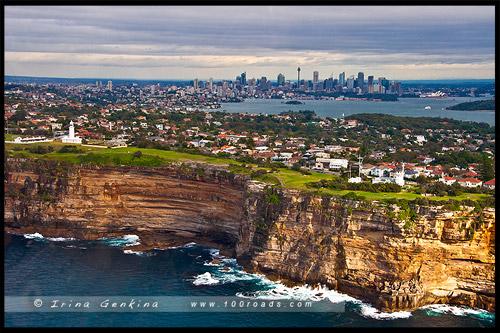 Полет над Сиднеем, Сидней, Sydney, Австралия, Australia