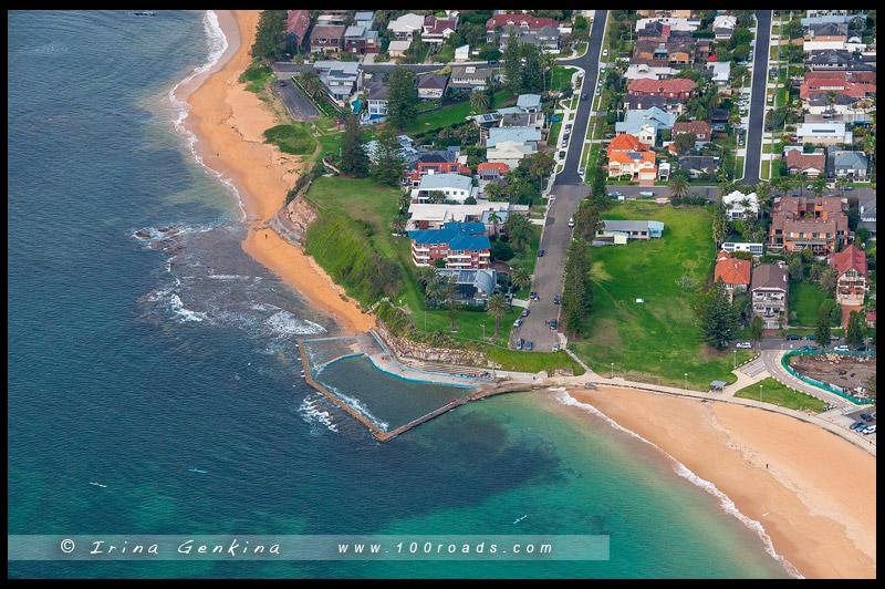 Пляж Колларой, Collaroy Beach, Северные пляжи, Northen Beaches, Сидней, Sydney, Новый Южный Уэльс, New South Wales, Австралия, Australia