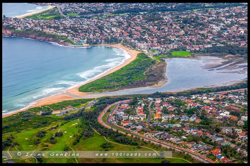 Пляж Ди Вай, Dee Why Beach, Северные пляжи, Northen Beaches, Сидней, Sydney, Новый Южный Уэльс, New South Wales, Австралия, Australia