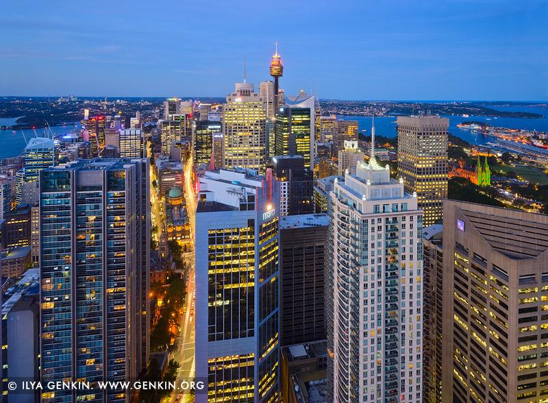 Сидней Тауэр, Sydney Tower, Сиднейская телебашня, Centrepoint Tower, Сидней, Sydney, Австралия, Australia