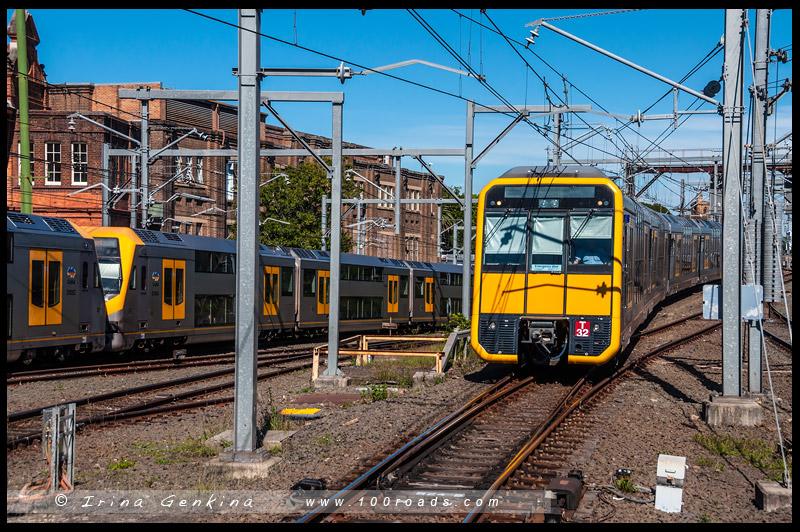 Общественный транспорт, public transport, Сидней, Sydney, Австралия, Australia