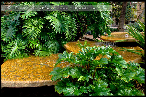 Фонтан Скважен Басби, Busby Bore Fountain, Гайд Парк, Hyde Park, Баковый ручей, Tank Stream, Сидней, Sydney, Австралия, Australia