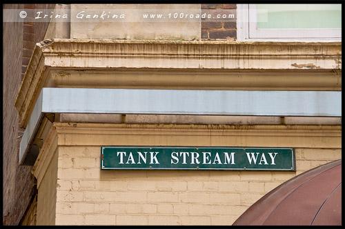 Прогулка, Баковый ручей, Tank Stream, Сидней, Sydney, Австралия, Australia