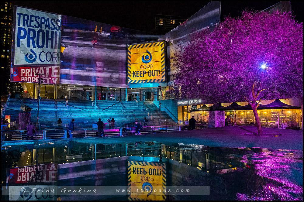 Чатсвуд, Chatswood, Яркий Сидней, Живой Сидней, Vivid Sydney, Сидней, Sydney, Австралия, Australia