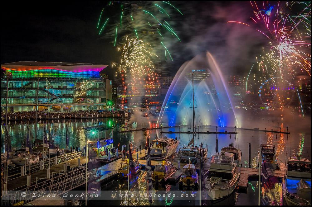 Дарлинг Харбор, Darling Harbour, Яркий Сидней, Живой Сидней, Vivid Sydney, Сидней, Sydney, Австралия, Australia