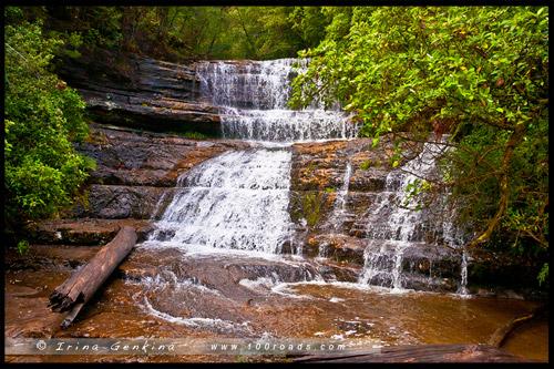 Водопад Леди Баррон, Lady Barron Falls, Тасмания, Tasmania, Австралия, Australia