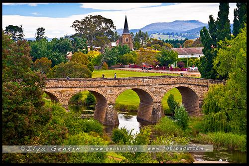 Ричмонд Бридж, Richmond Bridge, Ричмонд, Richmond, Тасмания, Tasmania, Австралия, Australia
