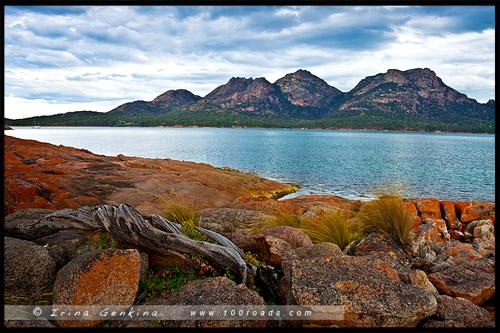 The Hazards, Залив Колс, Coles Bay, Тасмания, Tasmania, Австралия, Australia