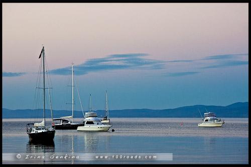 Залив Колс, Coles Bay, Тасмания, Tasmania, Австралия, Australia