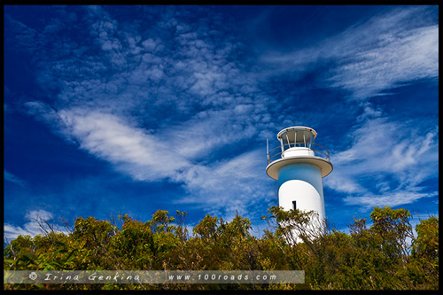 Маяк мыса Турвиль, The Cape Tourville Lighthouse, Тасмания, Tasmania, Австралия, Australia