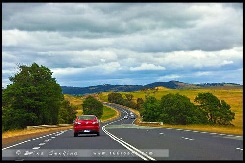 Внутреннее шоссе, Midland Highway, Тасмания, Tasmania, Австралия, Australia