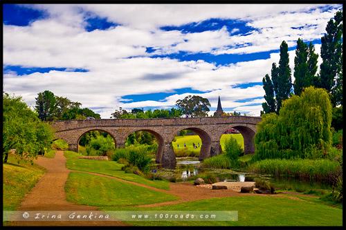 Ричмонд Бридж, Richmond Bridge, Тасмания, Tasmania, Австралия, Australia