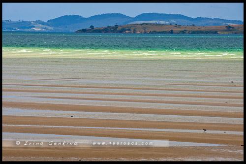 Dunalley Bay, Тасмания, Tasmania, Австралия, Australia