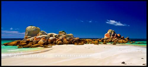 Picnic Rocks, Пикник Рокс, Скалы приятного времяпрепровождения, Eddystone Point, Тасмания, Tasmania, Австралия, Australia