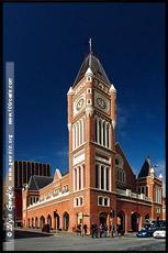 Городская Ратуша, Town Hall, Перт, Perth, Западная Австралия, Western Australia, WA, Австралия, Australia