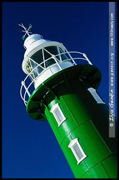 Маяк Южного Мола, South Mole Lighthouse, Фримантл, Fremantle, Перт, Perth, Западная Австралия, Western Australia, WA, Австралия, Australia