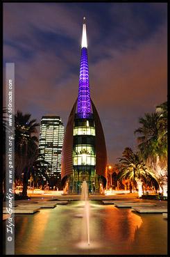 Лебединая колокольня, Swan Bells, Перт, Perth, Западная Австралия, Western Australia, WA, Австралия, Australia